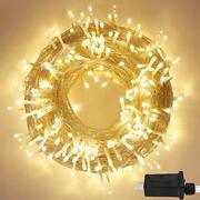 Lorryte Extra-long 148ft 400 Led Christmas String Lights Outdoor/indoor 8 Lig...