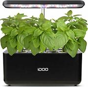 Hydroponics Growing System Indoor Herb Garden Starter Kit With Led Grow Light...