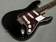 Over-the-counter Exhibits Fender Made In Japan Hybrid Stratocaster Rw Blk Black