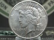1924 S Peace Silver Dollar 1 5 East Coast Coin And Collectables, Inc.