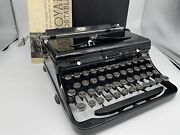 Antique 1938 Royal Model O Vintage Typewriter O-801960 Beautiful And Works Great