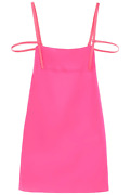 New Dsquared2 Mini Dress With Back Opening S72cv0168 S48427 Cabaret Pink Authent