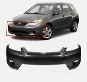 New Primed - Front Bumper Cover For 2003-2008 Toyota Matrix Base Xr Xrs