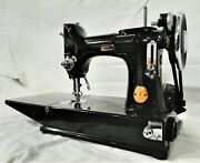 Singer 221 Featherweight Sewing Machine - 1935 Ad940573 School Bell Model
