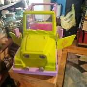 Our Generation Doll Og Green Jeep Fits 18 American Girl Dolls Also