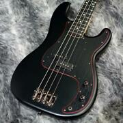 Fender Japan Made In Limited Noir Precision Bass
