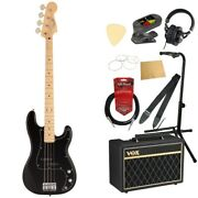 S22362 Fender Made In Japan Hybrid Ii Bass Mn Blk Electric Base With Vox