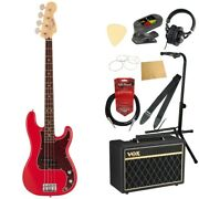 S22360 Fender Made In Japan Hybrid Ii Bass Rw Mdr Electric Base With Vox