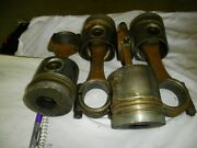 Volvo Penta Ad31b 4 Cylinder Diesel Pistons And Rods