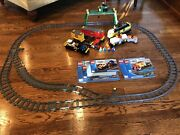 Lego City Cargo Train 7939 Complete Set W/ Manuals. Working Order. See Below