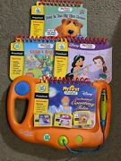 Leap Frog My First Leap Pad Learning System Lot Of 8 Books And Cartridges