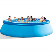 Inflatable Swimming Pools Above Ground - 14ft X 33in❤blow Up Full-sized Round And