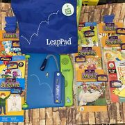 Leap Frog Leappad Learning System With 9 Books And Games + Extras