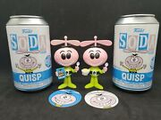 Funko Vinyl Soda Ad Icons Quisp Common And Gitd Chase 1/1600 64.99 Free Shipping