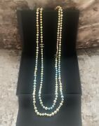 New Pastel Pearl Double Strand Iconic Fantasy Necklace