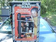 Vintage Star Wars Death Star Space Station Playset Empty Box Only Kenner 1978