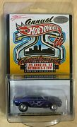 Hot Wheels 25th Collectorand039s Convention 67 Camaro W/ Dinner Sticker And Autograph