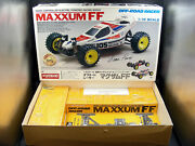 Vintage 1988 Kyosho 3127 Maxxum Ff Buggy Empty Box Signed By Rcca Steve Pond Wow