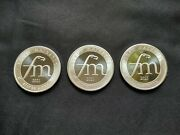 2021 First Majestic Silver Coins 1 Troy Ounce 0.999 Silver - Lot Of 3