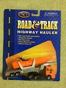 1997 Maisto Road And Track Life Guard Boat Mercedes Tractor Trailer Ho Scale 1/87