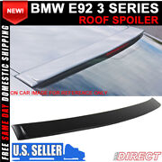 07-13 Bmw 3 Series E92 Ac Style Unpainted Abs Roof Spoiler