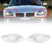 Left And Right Pair Headlight Cover Headlamp Lens Fits Bmw Z4 E85 2003-08 Clear U8