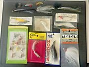 Rare Lot Antique Vintage Unused Fly Fishing Flies Lures Maine Trout More Lqqk