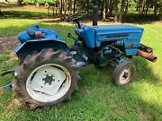 Mitsubishi D1800 Diesel Compact Tractor W/ 3pt And 540 Pto