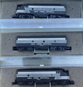N Scale Emd F7 New York Central 20th Century Limited Passenger Diesels Nyc 3rd