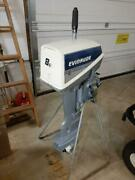Evinrude 8hp Outboard Motor W/charging System - Excellent Cond. - Local Pick Up