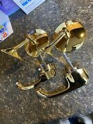 Chevy 1961 1962 Impala 24k Gold Plated Side Mirrors And Door Handles Brand New