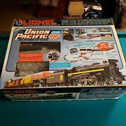 Lionel Union Pacific 027 Train Set With Additional Kw Transformer