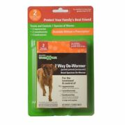 Sentry Worm X Plus - Large Dogs 2 Count 3931