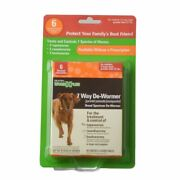 Sentry Worm X Plus - Large Dogs 6 Count 3933
