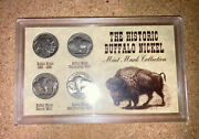 The Historic Buffalo Nickel Mint Mark Collection - 4 Coins Includes A 1930 S