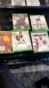 Lot Of 6 Xbox One Games Gta 5 Nba Madden Nfl Nhl Ryse Son Of Rome Red Dead