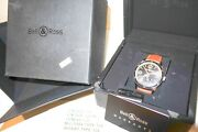 Pre-owned Bell And Ross Vintage Original Menand039s Watch Brv123-gh-st/sca