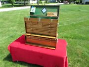 Gerstner Model W52 Machinist Chest With Wb62 Base And Original Purchase Paperwork