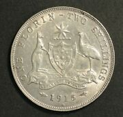 Australia 1915 H Florin Extremely Fine