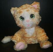 Furreal Friends Cuddlin' Cara With Sounds Orange Kitty Cat 9 Toy