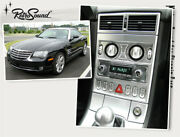 For Chrysler Crossfire Youngtimer Vintage Car Radio Dab+ Usb Bluetooth Aux Ukw