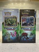 Pokemon Tcg Knockout Collection Tyranitar And Lucario Lot Of 2 Sealed Boxes 2017
