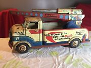 Vintage Marx Us Mobile Guided Missile Squadron Truck.
