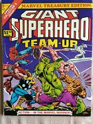 Marvel Treasury Edition 9 Giant Superhero Team-up Action In The Marvel Manner