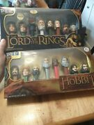 The Hobbit + The Lord Of The Rings Pez Sets, New