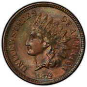 1872 Indian Head Cent Bn 1 Cents
