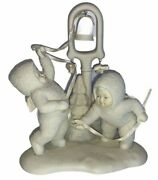 Dept 56 Snowbabies Ring The Bell, It's Christmas