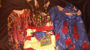 2 Fantastic Original Hand Made Vintage Circus Clown Costumes Fm Amend Collection