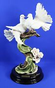 Florence Guiseppe Armani Sign Of Spring Le Dove Sculpture 1356s W/coa