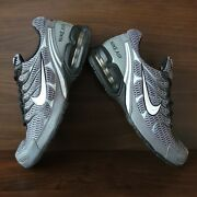 Nike Mens Air Max Torch 4 343846-012 Black Gray Running Shoes Lace Up Size 9.5